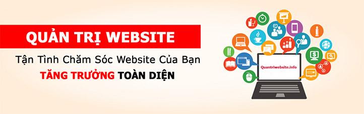 Dịch vụ quản trị website - Seo website hiệu quả