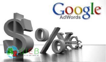 Các hình thức thanh toán Google Adwords