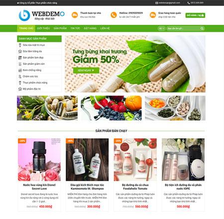 Web bán hàng dược phẩm