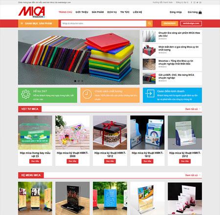 Web bán hàng Mica