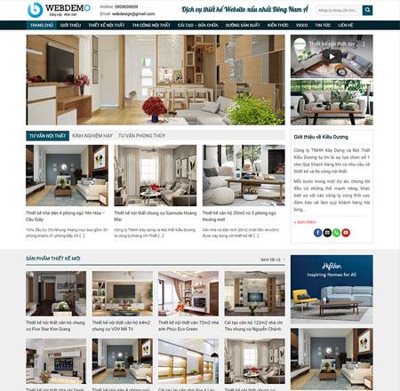 Website thiết kế nội thất 4