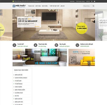 Webiste thiết kế nội thất 7
