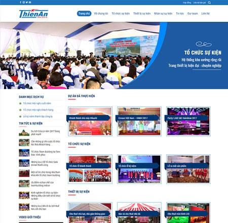 Web công ty tổ chức sự kiện - Event