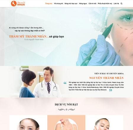 Website thẩm mỹ viện - Spa 1
