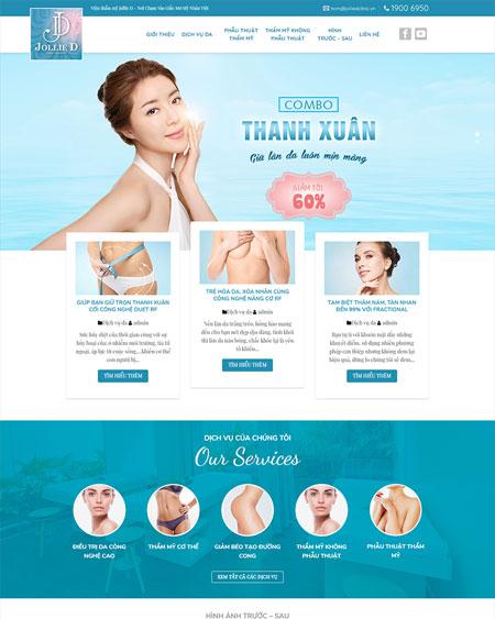 Website thẩm mỹ viện - Spa 4