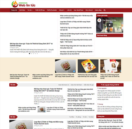Website tin tức 2