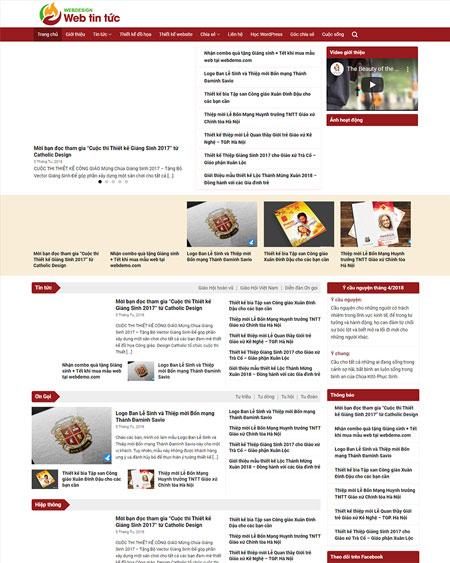 Website tin tức 2