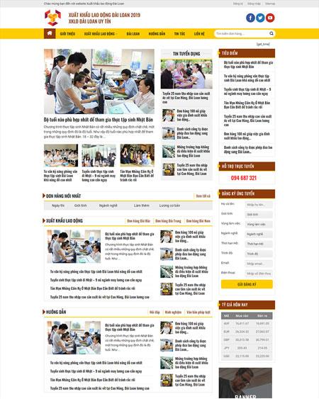 Website tin tức xuất khẩu lao động