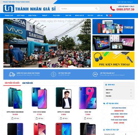 Website bán điện thoại