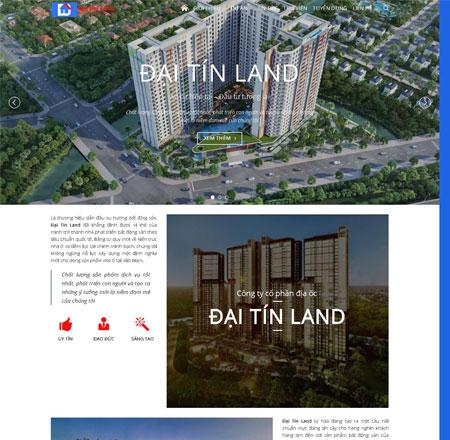 Website bất động sản Tiền Giang