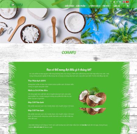 Website xuất nhập khẩu dừa