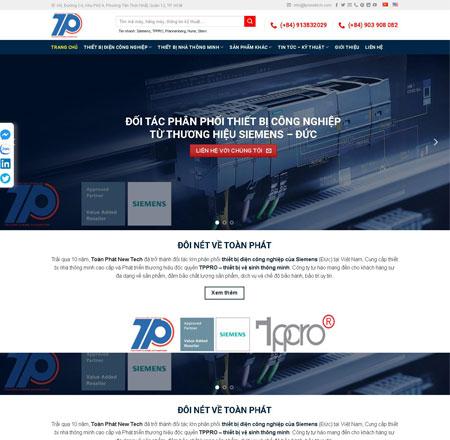 Website thiết bị điện tử